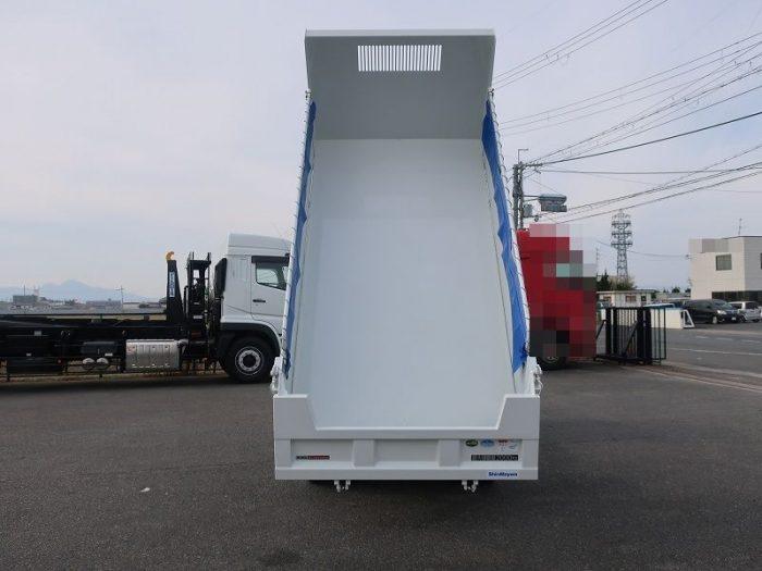 三菱 2tダンプ 高床 未使用車