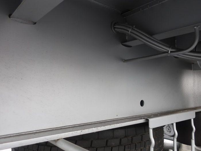 2370 東邦 アルミ平トレーラ 3軸 リフトアクスル