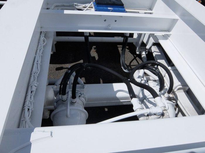 2420 東邦 海コンシャーシ 3軸 未使用車